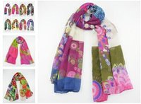 long silk scarf - 2014 New Wraps brand all match comfortable design Pashmina long silk scarf Large Scarf Shawl CM