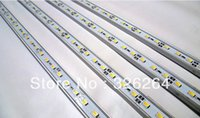 aluminum post base - Free HK Post shipping M V LED Rigid bar light SMD Non waterproof leds with U base aluminum house