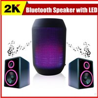 sound box - Pulse speaker pill bluetooth speaker Bluetooth audio wireless big sound box support TF card portable Speakers with LED light FM