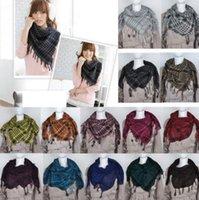 arab scarf sale - HOT SALE Unisex Women Men Checkered Arab Grid Neck Keffiyeh Palestine Scarf Wrap