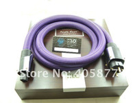 al por mayor poder xlo-XLO Purple Power Cable Schuko acometida con la caja original 2M