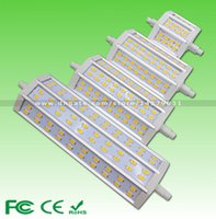 Wholesale Ultra Bright Dimmable W W W W Samsung SMD5630 LED R7s light Warm White Cold white replace halogen lamp CE RoHS