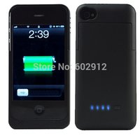 Cheap US Stock 3200mAh & 2200mAh Rechargeable Backup External Battery Charger Power Bank Powerbank Case Cover for iPhone 4 4G 4S 5 5G 5S 5C