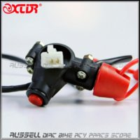 atv safety switch - Universal Engine Motor Quad Scooter ATV Kill Stop Tether Switch Push Button amp Safety Tether Emergency Kill Stop