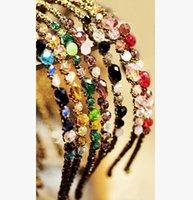 Wholesale Fashion Bohemian Style Women s Crystal head hoop hairpin headband hair clip Accessories Girls Hair Ornaments Fashion Hair band Accessories
