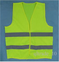 Wholesale 2015 New reflective safety vest reflective safety vest coat Sanitation vest Traffic safety warning clothes vest Safety Vest CCA1527