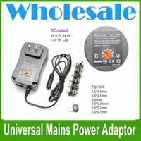 Wholesale Universal AC DC Power Supply Adaptor Plug Charger Adatpter v v v v v