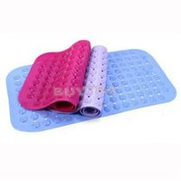 Wholesale 2014 New Portable Safety Bathroom PVC Pad Rubble Bath Shower Practical Toilet Anti Slip Mat