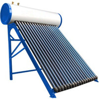 180L compacto de alta presión tubo de calor del calentador de agua solar, presión JJL colector solar sistema de calefacción de agua caliente