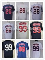 austin cottons - 30 Teams New Cheap Austin Kearns rick vaughn Jersey Baseball Stitched Logos Cool Base Jersey