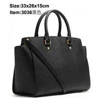 Wholesale 2014 new Women s handbag bag shoulder bag patent leather oil skin PU jelly handbag bag bag black