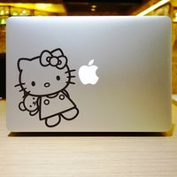 hello kitty laptop skin - The series of Hello Kitty Creative personality Vinyl Local Decal Sticker Skin for Apple MacBook12 quot air11 quot quot Pro13 quot quot quot Retina13 quot quot