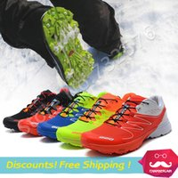 arrival series - New Arrival Zapatillas S LAB W Series off road Men running shoes Salamon outdoor sports shoes For Men Athletic Shoes