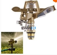 alloy sprinkler - Water Sprinkler For Garden Lawn Park Adjustable Rotary Zinc Alloy Inch Irrigation Sprinkler