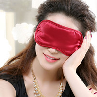 Wholesale 100 Silk Sleep Mask Eye Mask Hypoallergenic Facial Eye Beauty and Health For Women Men Teens Perfect For Travel Silky Soft Cover Eyes