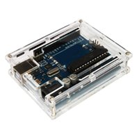Wholesale DIY Module Board Demoboard Shell Useful Transparent Acrylic Protective Case for Arduino UNO R3
