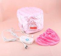 Wholesale Hot maquiagem Hair Thermal Treatment Beauty Steamer SPA Cap Nourishing Hat Hair Care