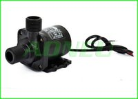 Wholesale LPH M V Brushless DC Mini water Pump For CPU Cooling Solar Fountain Garden feature Water bed Ceramic Shaft