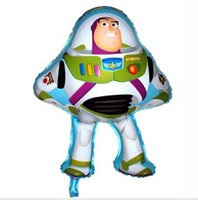 balloon stories - cm Buzz Lightyear shape balloon for toy story party decoration toy foil helium balloons for birthday party