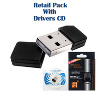 Wholesale 150Mbps WIRELESS B G N USB WiFi NETWORK CARD LAN ADAPTER DONGLE PC LAPTOP