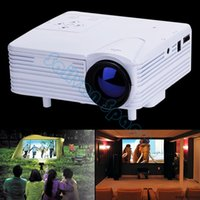 Wholesale High Quality Mini LED Projector Digital Video Projectors Proyector Home Theater With HDMI AV VGA SD USB B2 OS000719