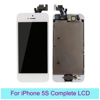 Wholesale Pantalla For iPhone S Screen Replacement Complete With Home Button Front Camera For iPhone S Digitizer Home Pantalla S