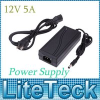 Wholesale DC12V A Output Led Strip AC Power Adapter Support V Power Supply Switching Charger EU US Plug