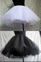 Ball Gown best mini skirts - Best selling High Quality Mini Skirt Petticoats Layer Tulle Wedding Petticoats Cathedral Train Ball Prom Petticoats