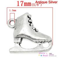 antique shoe horn - Charm Pendants Skating Shoes Antique Silver mm x mm B31037 yiwu Pendants Cheap Pendants Cheap Pendants