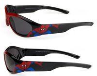 Wholesale MOQ brand new kid Spider Man sunglasses Children s relaxation uv sunglasses boy and girl sport fashion Sun glasses red drop shipping