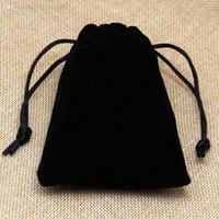 achat en gros de cadeau jewlery-Expédition Velvet sacs-cadeaux de gros sans collier Jewlery Pochettes Mariage Sacs d'emballage Touché Eh bien bonne qualité