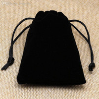 Wholesale Velvet Gift Bags Jewlery Necklace Bags Wedding Packaging Pouches Touched Well Good Quality