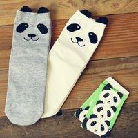 ladies socks - 2014 Hot new cartoon cute panda socks cotton socks ladies socks ladies socks manufacturers