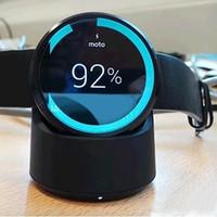 Motorola smartwatch Prix-Pour Motorola Moto360 2e génération Smartwatch chargeur sans fil QI Chargeur portable base de base