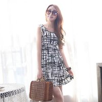 korean maternity dress - 2016 Sale Maternity Photography Props Ropa Embarazada Ematchi Summer Women Korean Painted Checkered Ice Silk Sleeveless Camisole Dress for