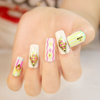 Wholesale Geometry pattern D high quality Art Body Paint nail art sticker nail decoration display