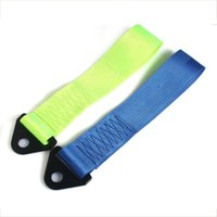 Wholesale Universal Racing Tow Towing Strap Bumper Hook Rating Colors Available