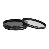 photography camera - Andoer mm Fader ND Filter Kit Neutral Density Photography Filter Set ND2 ND4 ND8 for Nikon Canon Sigma Sony DSLRs Camera D1762