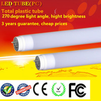 Cheap led t8 plastic tube Best free shipping led tube