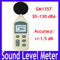 Wholesale sound level meter GM1357 with AC DC output function range dB dB MOQ