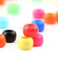 Cheap 1 bag Round 6mm Alphabet Letter Charms for Pony Beads For Loom Bands Bracelet Free shippping