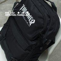 stussy - 2015 CLOT stussy HipHop American hip hop street cooperate edition skateboard bag man backpack shoulder bag doubles