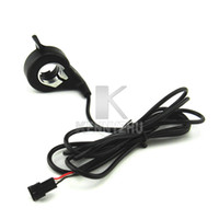 Wholesale FT X E bike Thumb Finger Throttle1 M Cable without Handle For Electric Bicycle Scooters E motorcycle