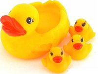 baby shower puzzles - Large duck toy big three small four ducks duck baby shower Puzzle toy duck Children s educational toys