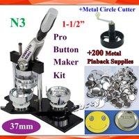 Wholesale Pro N3 Worldwide Class quot mm Badge Button Maker Machine Metal Cutter Sets Metal Pinback Supplies