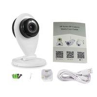 Wholesale HD P SP009 Mini Small IP Camera Wifi P2P Smatphone Monitor Network Camera SD Card Storage