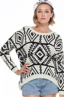 Women Short V-Neck EAST KNITTING RE-71 New 2014 womens knitted jumpers Asymmetric Tribal Style Cream Jumper FREE SHIPPING