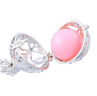 Wholesale 16mm Harmony Chime Balls sounds Copper Pregnancy Bola Ball Sounds Baby Angel Caller Metal Materials for Pendants Maternity Necklace