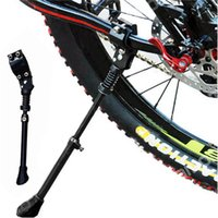 Wholesale Light Mountain Bike Foot Support Bicycle Car Rod Racks Foot Support Adjustable Bike Stand