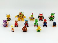 Roles mario bros toy - 2015 New Genuine Super Mario Bros yoshi Figure dinosaurand roid watchtoys Figure play SuperMario toys doll styles V104
